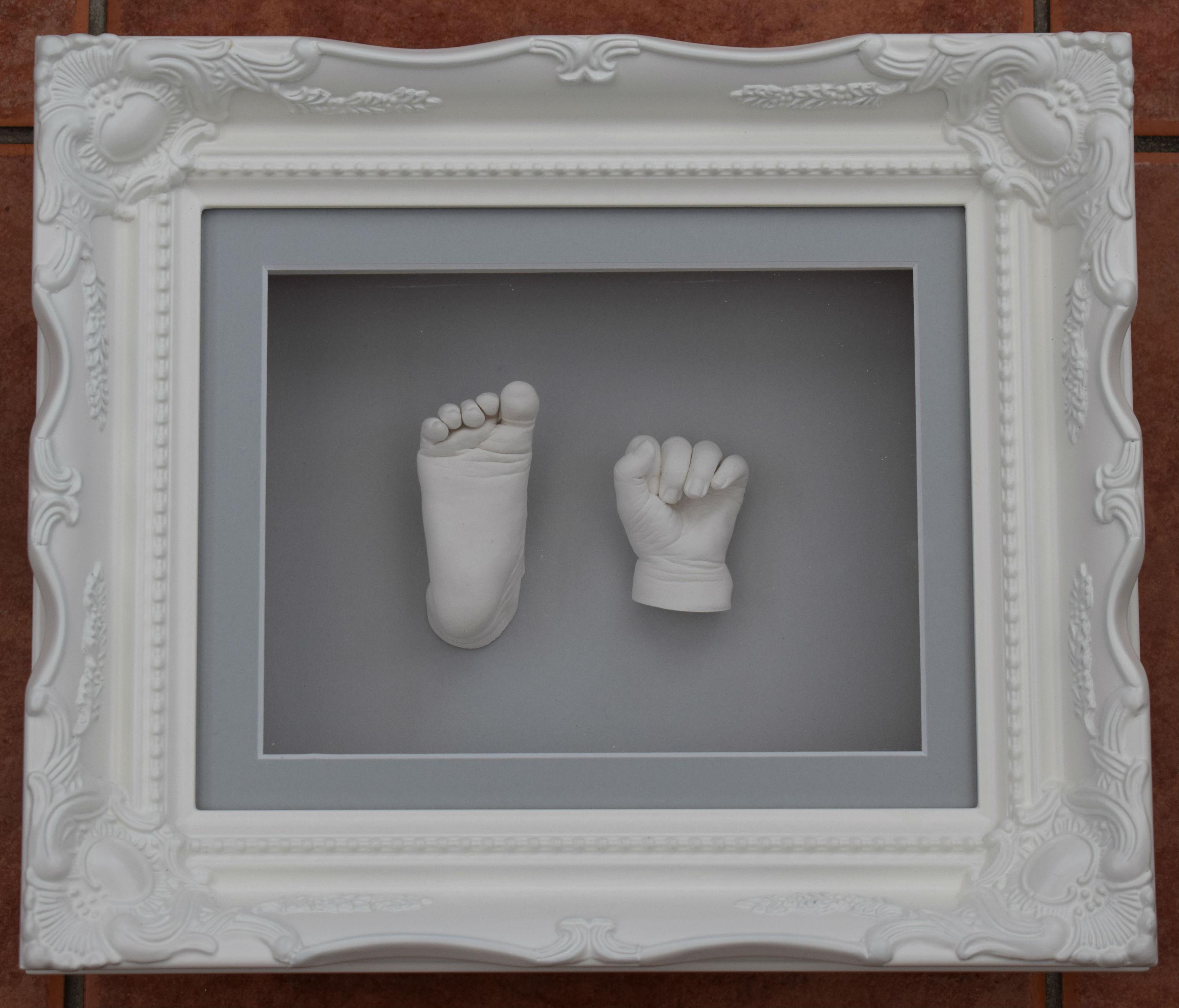 Framed hand and feet