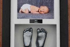 Framed photo and feet4